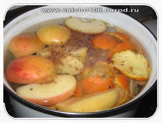 Кулинарные рецепты: напитки мандариновый.